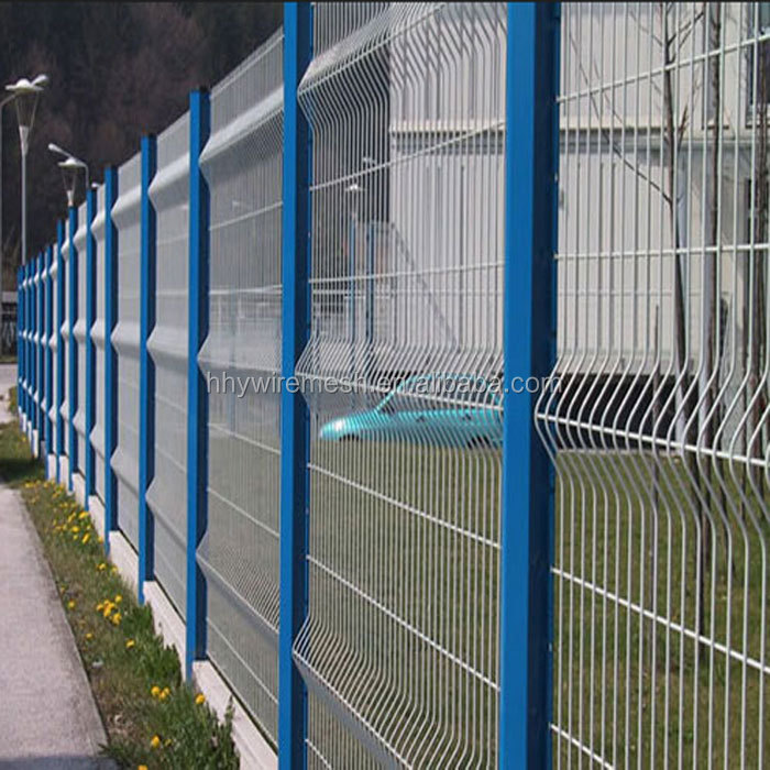 galvanized welded fence Factory sale cheap pvc coated wire mesh fencing