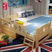 cuna cuna de madera maciza con cajones junto a la madre de cama cama para nios
