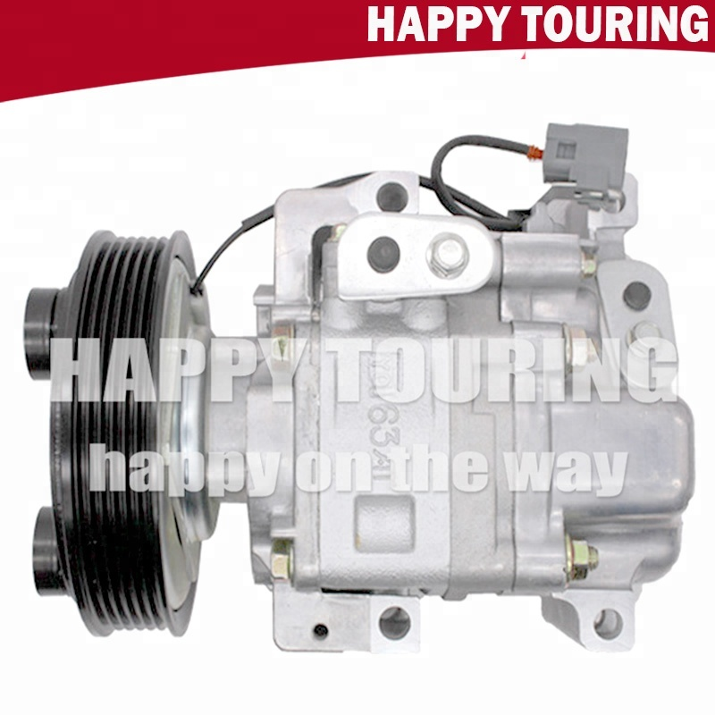 Good 2008 12v Compressor Auto Parts Car Air Pump 212 Ac Conditioning V09a1aa4ak For Mazda 2 Auto Replacement Parts