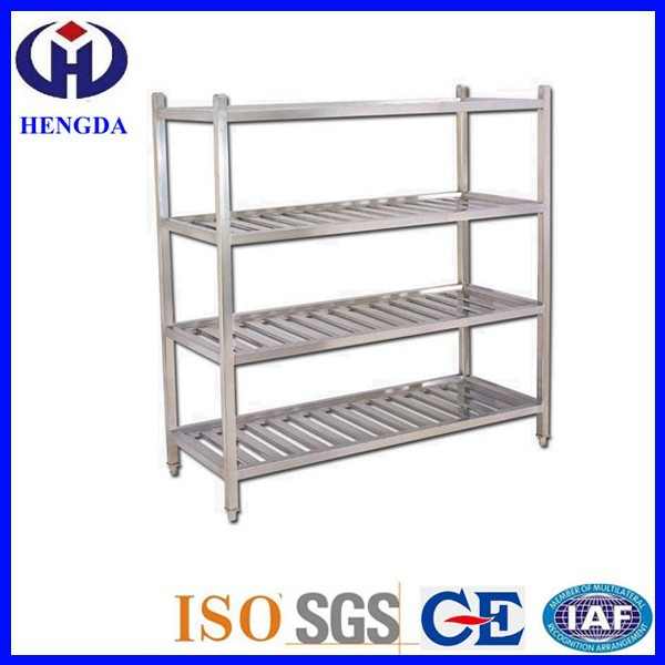 4 Layers Commercial / Restaurant Stainless Metal Rack Kitchen Stand Kitchen Shelf