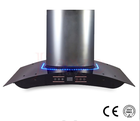 Best price excellent kitchen appliance curved glass range hood /kitchen range hood