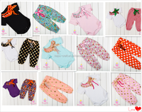 lovely baby clothes wholesale price kids suit design pompom baby clothes outfits
