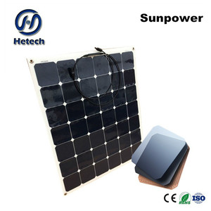 flexible materials and finally forms the high efficiency 130w 140w flexible solar panels information
