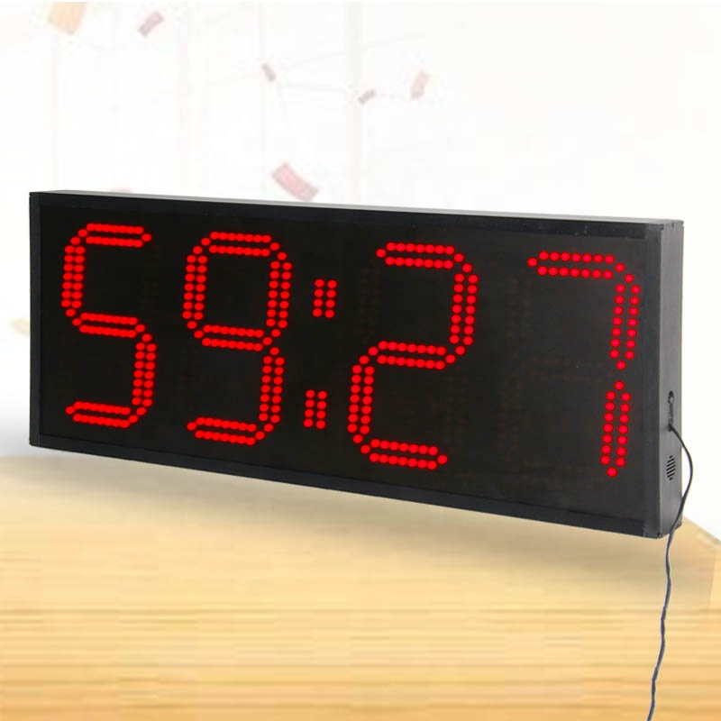 4 Digit Stoppuhr Timer Rote Led Timer Sport Timer Display Board