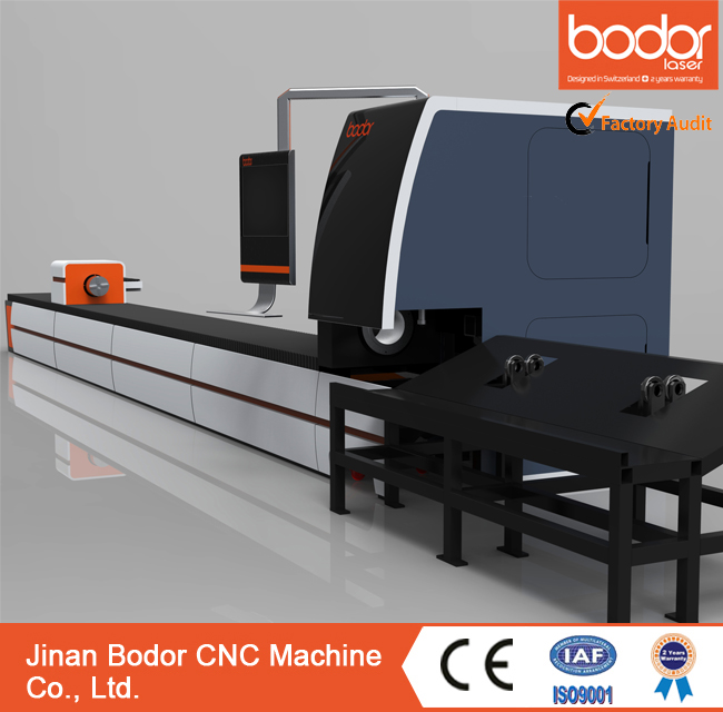 BCL-FR metal square&round tube fiber laser cutting machine Bodor CNC factory price