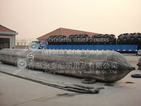 Natural Raw Rubber Strong Bearing Capacity Ship Launching Airbags and lifting Upgrading air bag for Shipyard