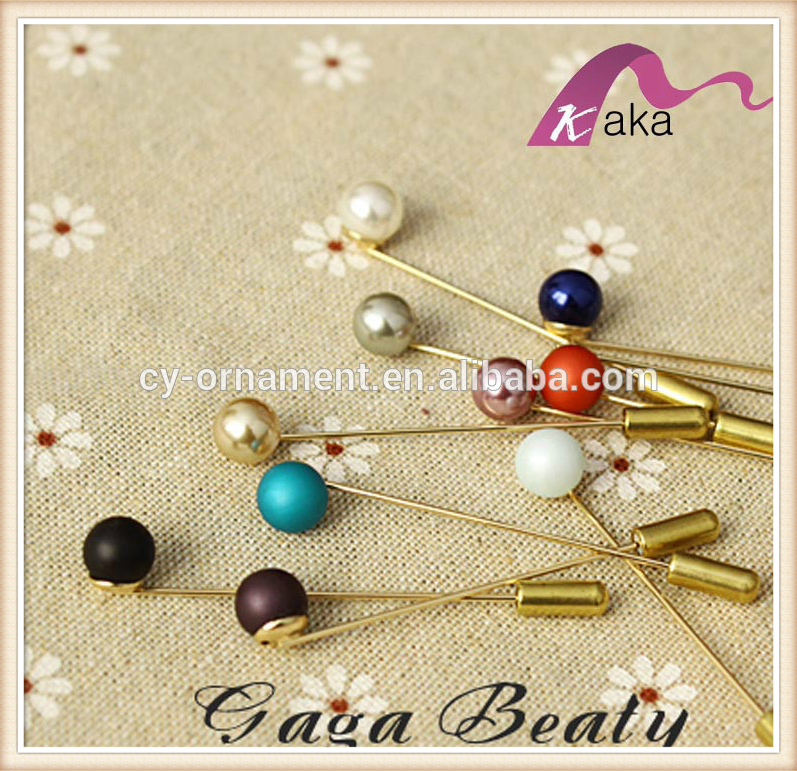Fashion Elegant Pearl Brooch Pins For Men Suits