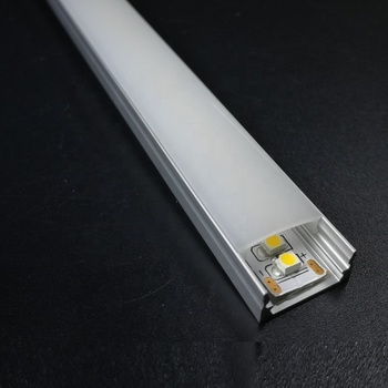 50set/pack, 2.5m Super slim 8mm Surfaced mounted Aluminum led strip profile channels for 12mm strip SDW131
