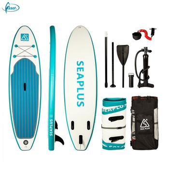 Fissot original Design inflatable sup paddle board with paddle made in China