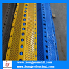 Diamond holes Wind Dust Network /Perforated Metal Sheet Used as