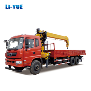 Best Truck Mounted Crane Lorry Loading Crane10 Ton Small Truck Crane Price