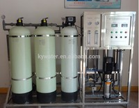 sand and carbon filter drinking water filter 1000L with water tank and water purifier