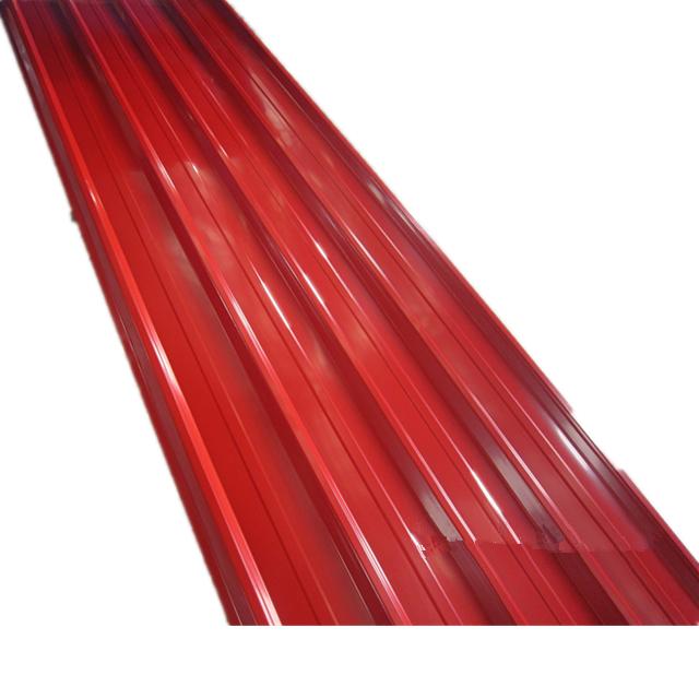Price Per Square Meter Of Sheet Metal Roof Corrugated