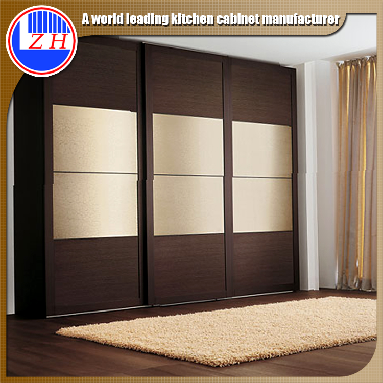 China Factory Melamine Mdf Plywood Particle Board Modern Bedroom Furniture Sets Wardrobe