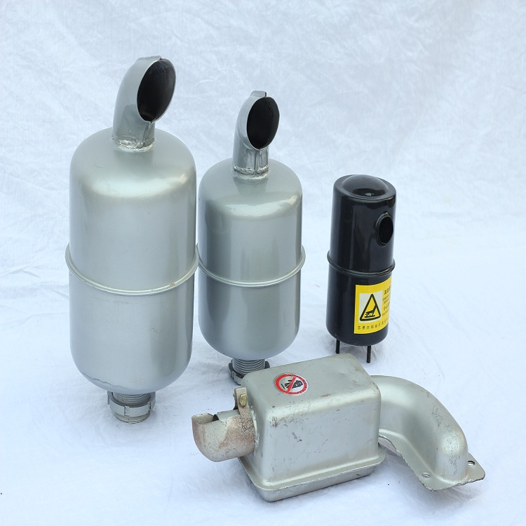 Diesel engine parts ZH1133 Exhaust Silencer