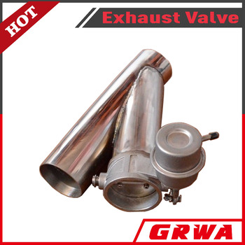 High performance stainless steel exhaut valve with Y-pipe