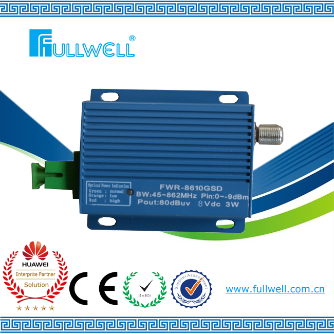 FTTH CATV signal receiving mini optical receiver