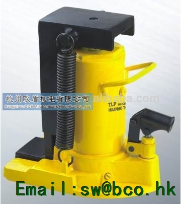 Hydraulic track jacks, integral type, 120mm Stroke HHQD-5, hydraulic tools