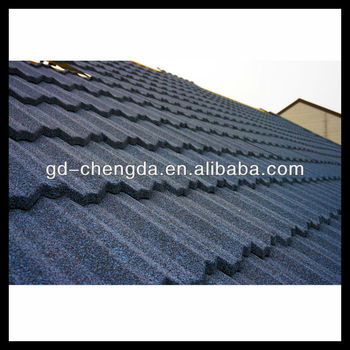 Colorful stone coated steel roofing sheet / roofing building supplies prices
