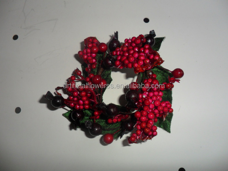 wholesale christmas decoration pine cone christmas wreath