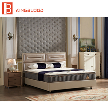 King Size Bed Head Boards with Full Bed Frame for bedroom furniture