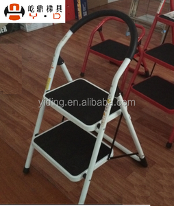 Fine Super Step Steel Ladder 2 Steps With Arc Handrail Bralicious Painted Fabric Chair Ideas Braliciousco