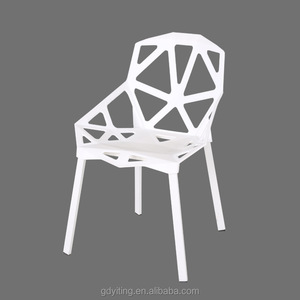 Modern outdoor dinging living room use Plastic Chairs
