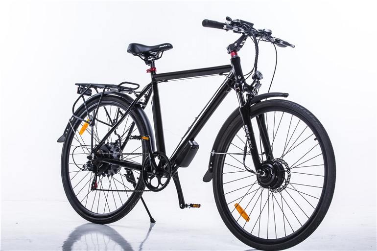 Black K night Electric bicycle dynamo electric bicycle electric road bicycle