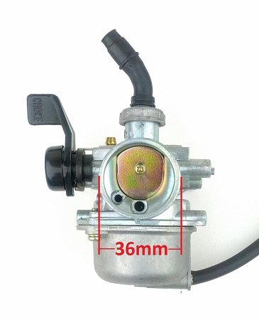 19mm Carb Carburetor with Right Hand Choke for 50cc-110cc ATV Dirt Bike Go Kart Go-karts Pit Bike 4 Wheeler Quad Bikes
