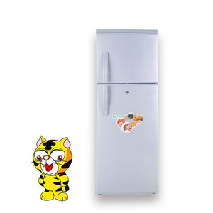 330l second hand selling rubber door dc refrigerator