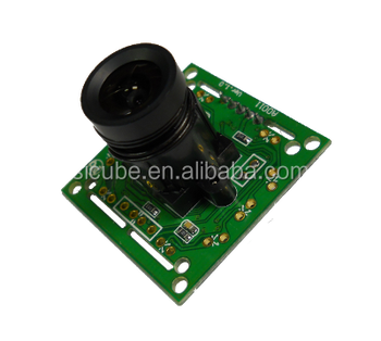 SB101D VGA CMOS camera module with 2.5mm board lens for digital microscope