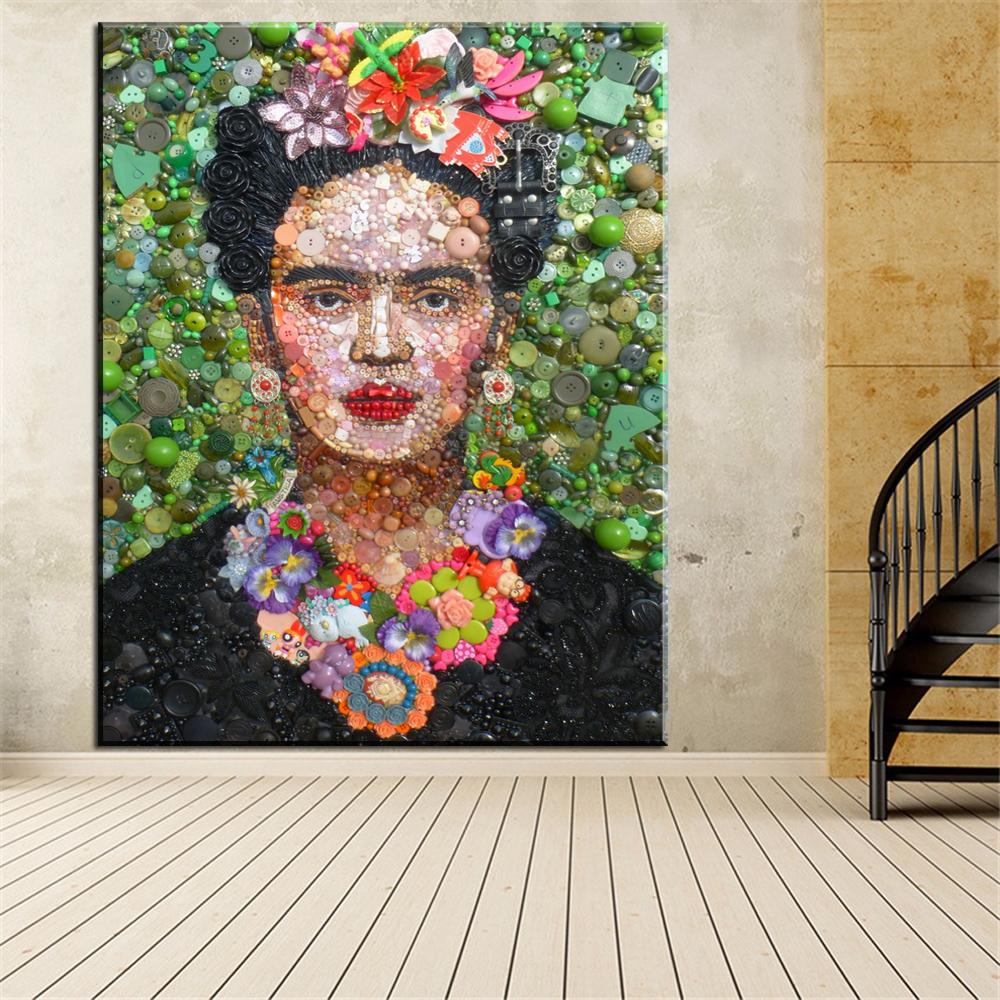 frida kahlo schilderijen koop goedkope frida kahlo schilderijen loten van chinese frida kahlo. Black Bedroom Furniture Sets. Home Design Ideas