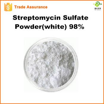 streptomycin sulfate powder(white) 98% bulk supply in stock