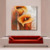 wholesale Unframed Modern abstract painting Handpainted Beautiful single flower Oil Painting wall art for home decor