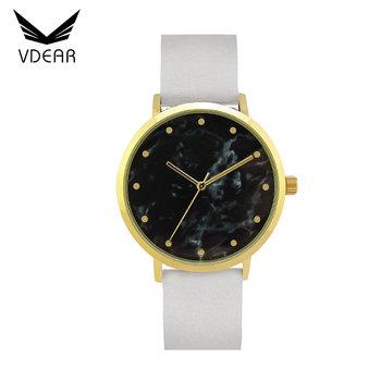 detailed look 3729c b2f63 ファッションレディースレザー日本腕時計ブランド石クォーツ時計日本movt女性 - Buy ...