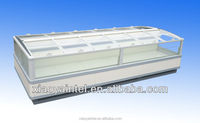 China Little Duck supermarket Island freezer for sea foods E7 WASHINGTON with CE certification