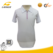 Dye sublimation polyester polo shirt