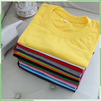 Wholesale High Quality Plain Blank 100 Cotton White T