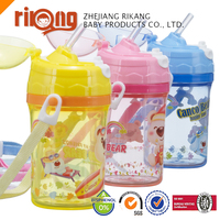 Unique Shape Plastic Baby Small Clear Plastic Sport Bottle