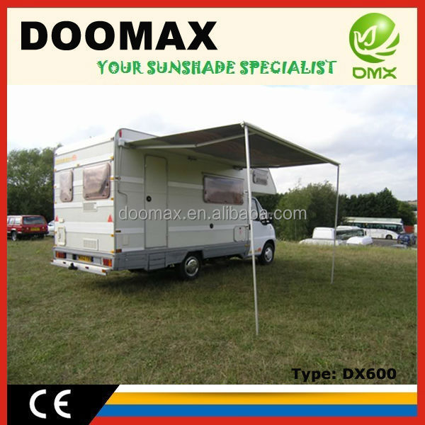 #DX600 Movable Aluminum Fox wing Awning