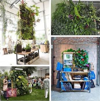 Large 9 Pocket Hanging Vertical Garden Planter Indoor/outdoor Decoration  Vertical Wall Garden Planter
