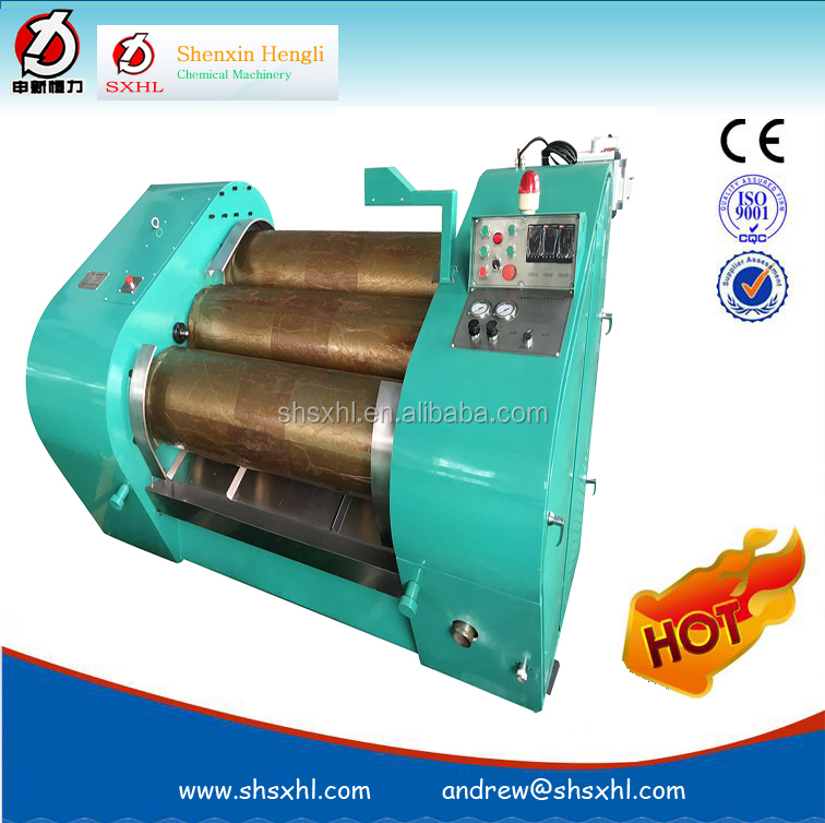 high viscosity UV ink textile pigment SGG triple-roller mill ,three roller mill