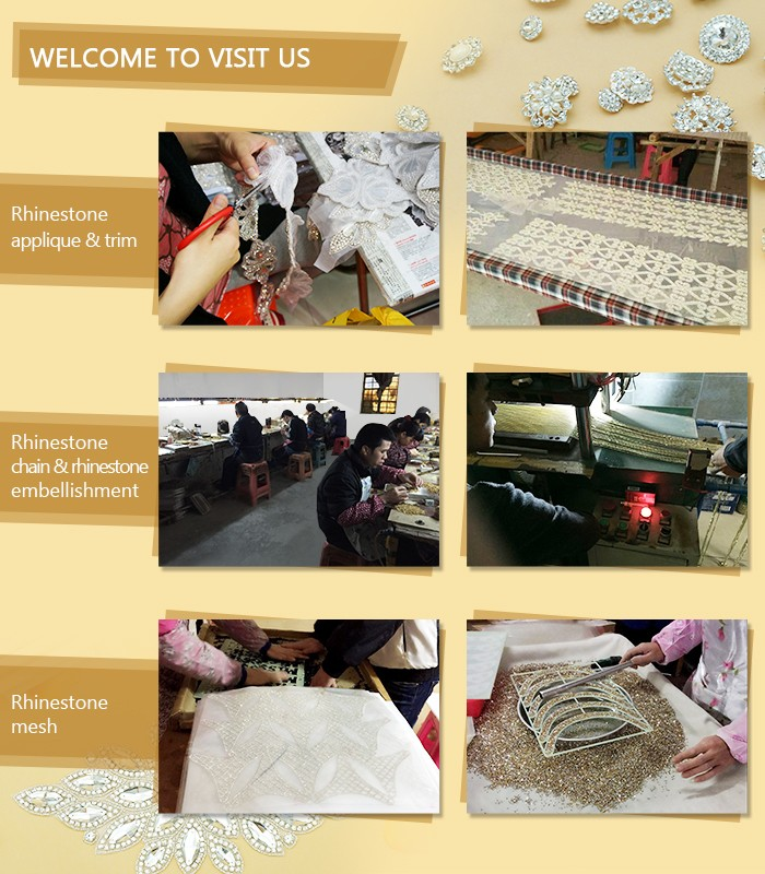 Guangzhou manufacturer bling bling crystal diamond shoe decoration