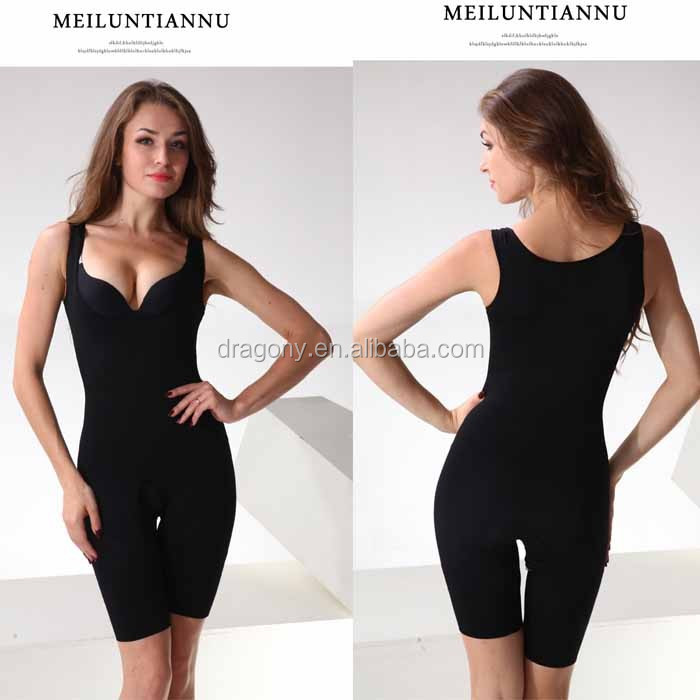 Belly supporting the chest Postpartum conjoined garment Bamboo bodysuit Charcoal Woman Slimming pants perfect Body Shaper
