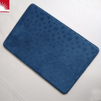 China Custom Non Slip Bathroom Floor Mat Memory Foam Bath Bathmate X30