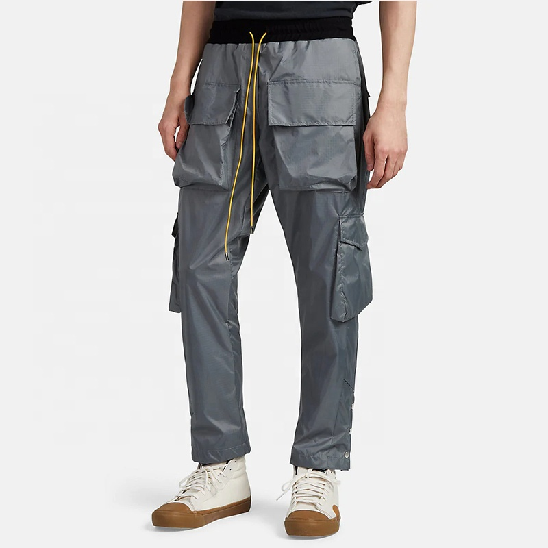 coupon code official site sports shoes 2019 100% Nylon Men Cargo Pants 6 Pockets Elastic Drawstring Waist Casual  Trousers Oem Logo - Buy Cargo Pants For Men,Nylon Pants,Mens Casual  Trousers ...