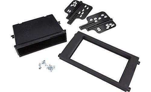 Metra 99-9604B Single/Double Din Dash Kit for Select 2003-2010 Porsche Cayenne Vehicles, Matte black