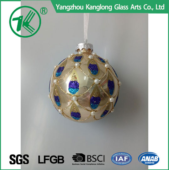 High quality Holiday Deocration Supplier christmas ball globe for family