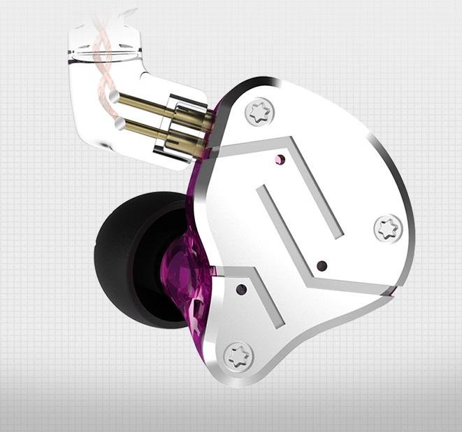 Sport earphone HiFi Monitor Earphones Balanced Armature Dynamic Driver Hybrid Headphone фото