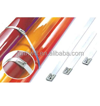 High Quality Solar Stainless Steel Tie Wrap Manufacturer